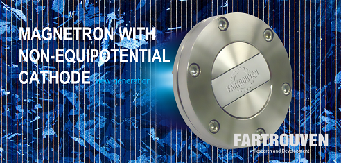 New magnetron with non-equipotential cathode. This is a new type of magnetron - a magnetron with a nonequipotential cathode (NEC-magnetron) provides spraying with a record high output. Fartrouven R&D, Portugal